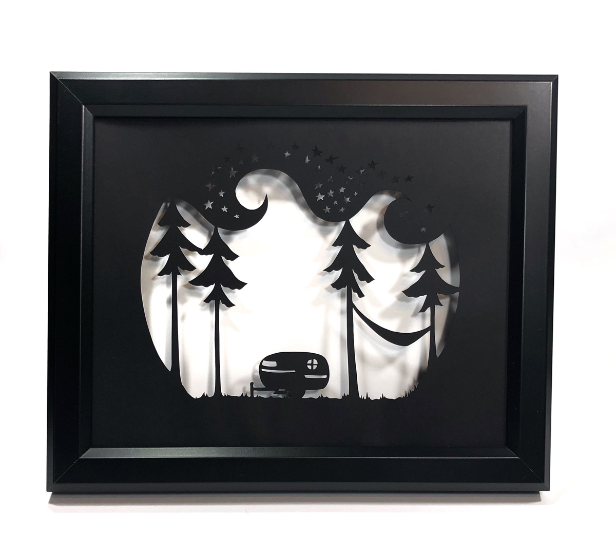 galaxy camper black frame