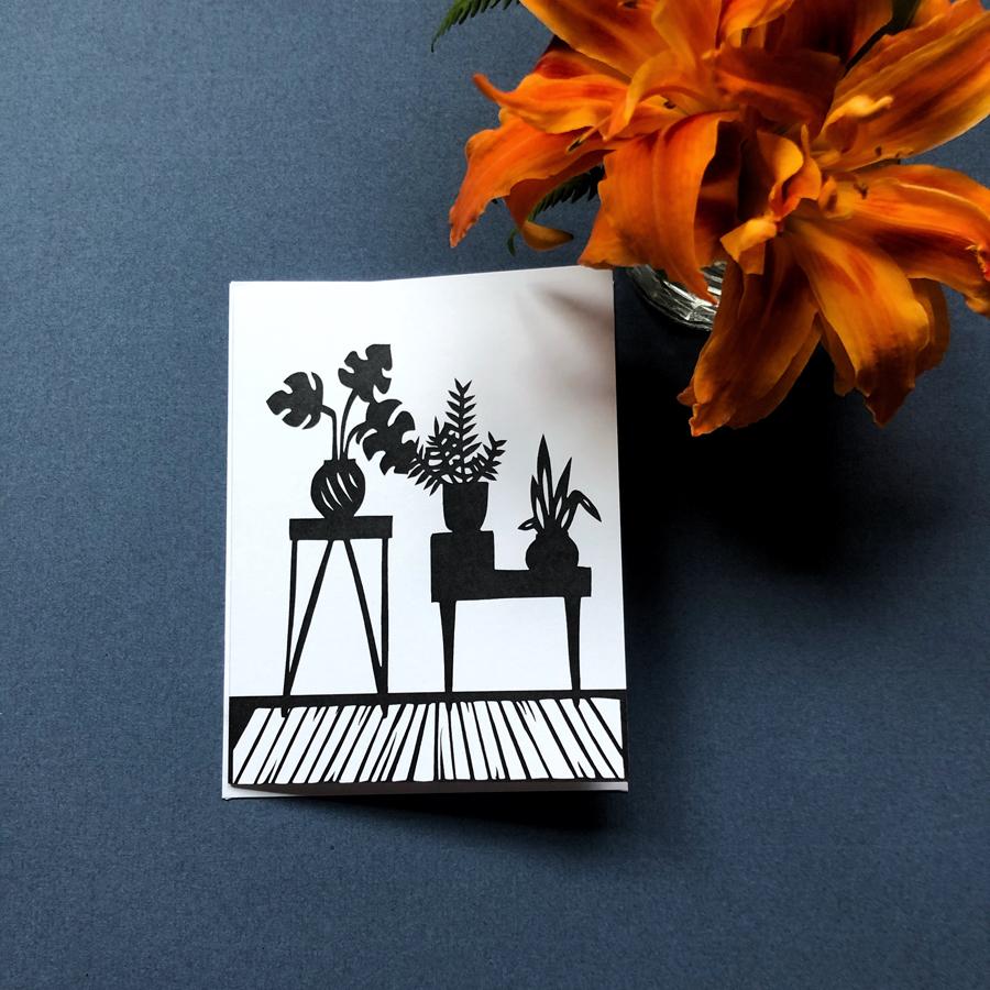 breathe plants card