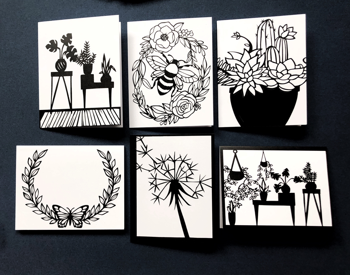 plant set card pack