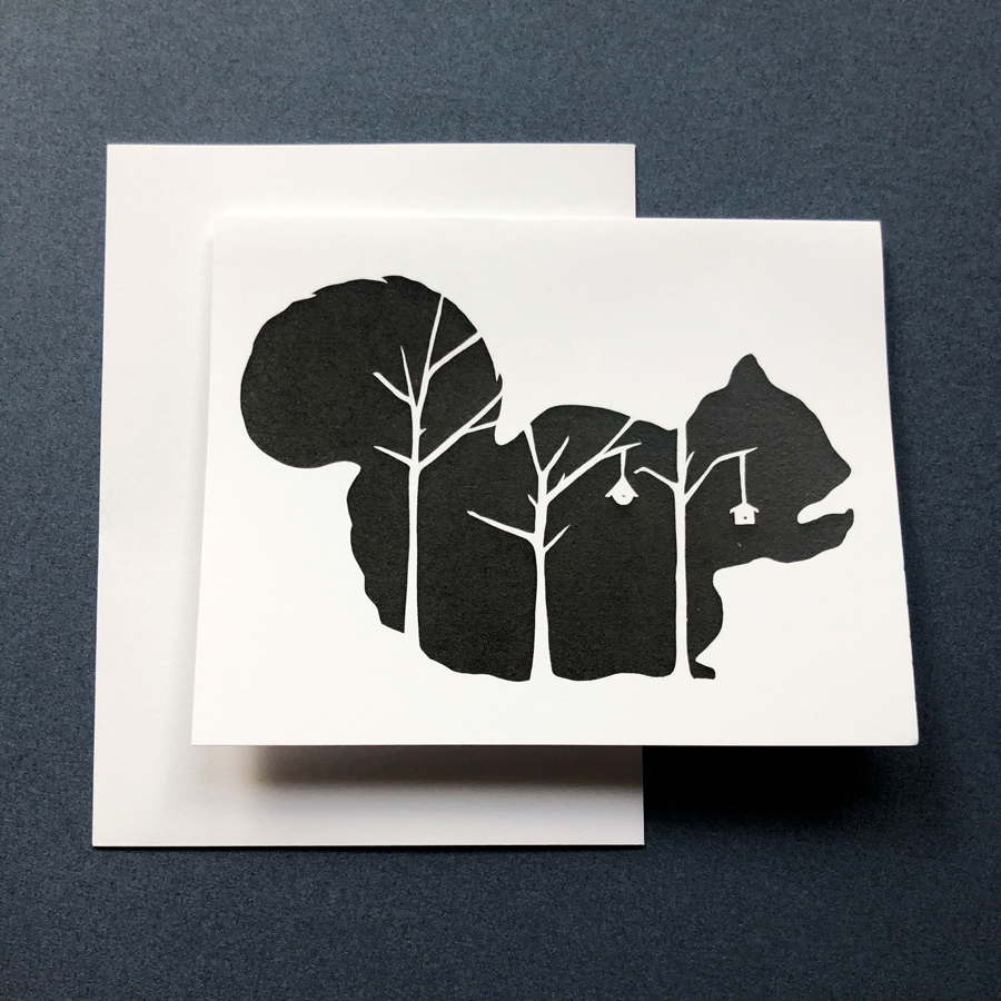 squirrel card