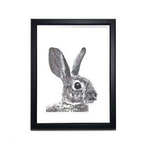 bunny-portrait-art-decor
