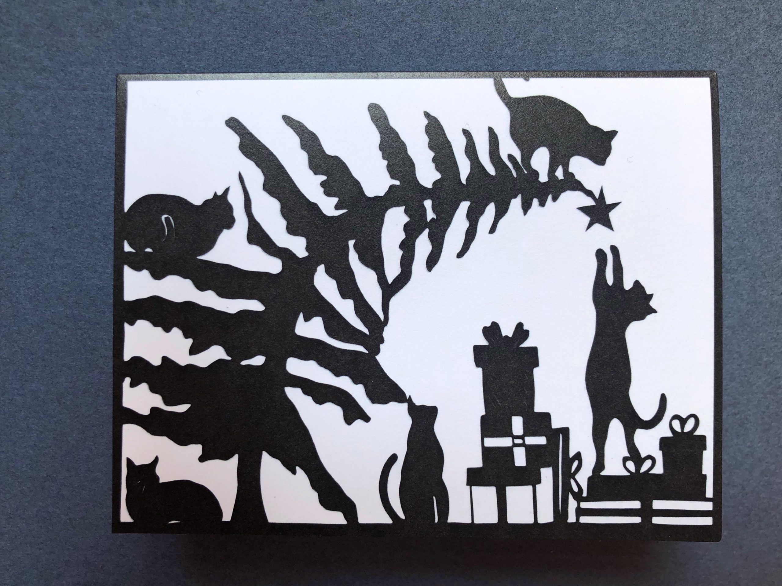 card cat tree