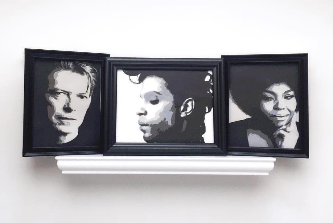 David Bowie Prince Roberta Flack